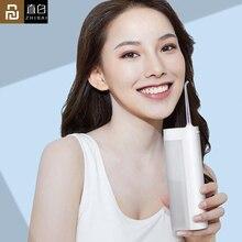 Youpin Zhibai XL1 kablosuz USB şarj edilebilir Oral Irrigator taşınabilir su diş pensesinde akülü IPX7 kürdan temiz dişler için