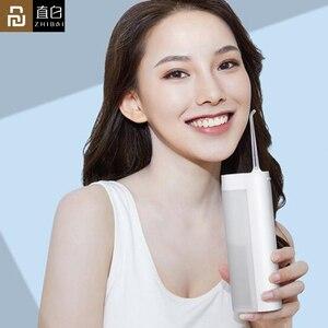 Image 1 - يوبين Zhibai XL1 اللاسلكية USB قابلة للشحن عن طريق الفم الري المياه المحمولة قطن الأسنان اللاسلكي IPX7 مسواك لتنظيف الأسنان