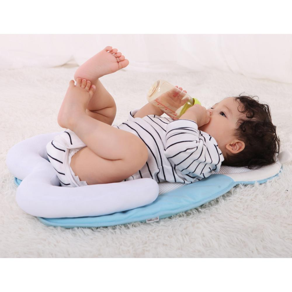 0 12 Months Baby Positioner Pillow Prevent Flat Head Sleep Cushion Infant Positioning Newborn Sleeping props Poser Pillow in Pillow from Mother Kids