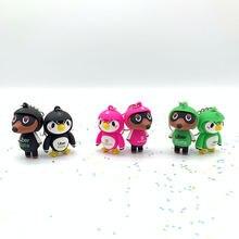 Япония животных пересечения Ключ Цепочки аксессуары мода игры