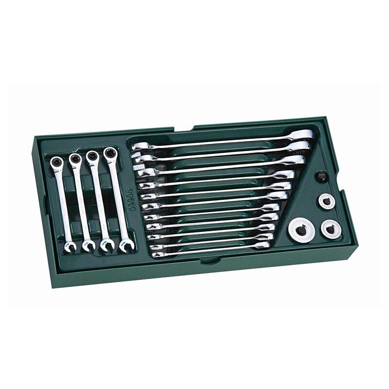 SATA 09925 for Инструм. Tray (set) Key Combination. 19пр. (Metric) 09908 49852 sata 04110 for tool set 19пр combo vehicle gen case