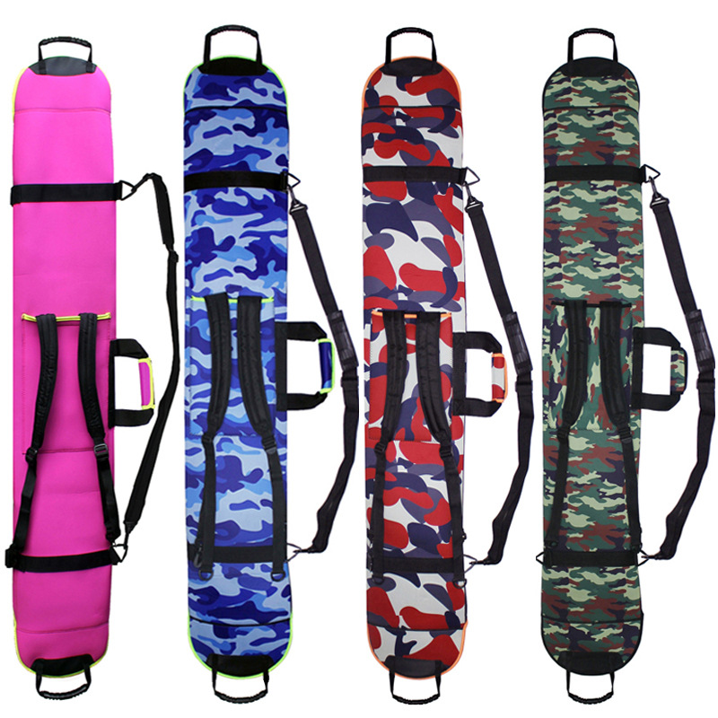 Ski Bag Thick Water Resistant Bag Protective Cover Carry Bags Hand Carrier With Single / Double Shoulder Strap For Snowboarding*