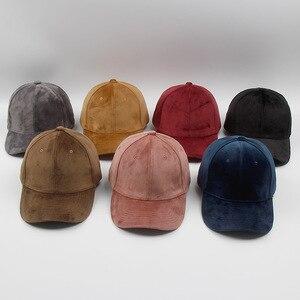 Image 1 - Luxury ยี่ห้อผ้าฝ้ายกำมะหยี่เบสบอล Caps สำหรับผู้ชายผู้หญิงกีฬาหมวกหมวก Trucker หมวกหมวกหมวกฤดูหนาวกลางแจ้ง sa 8