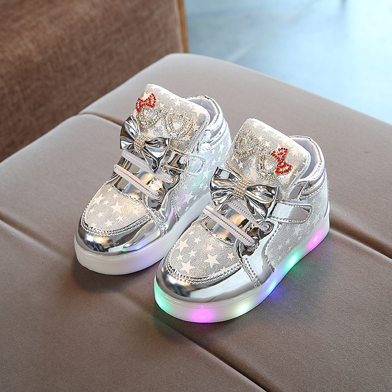 Casual Colorful Light Star Luminous Boots 3