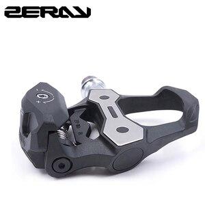 Image 1 - Педали для шоссейного велосипеда ZERAY, 30% углеродное волокно с бутсами, ZP 110, совместимы с самоблокирующимися подшипниками, Аксессуары для велосипеда