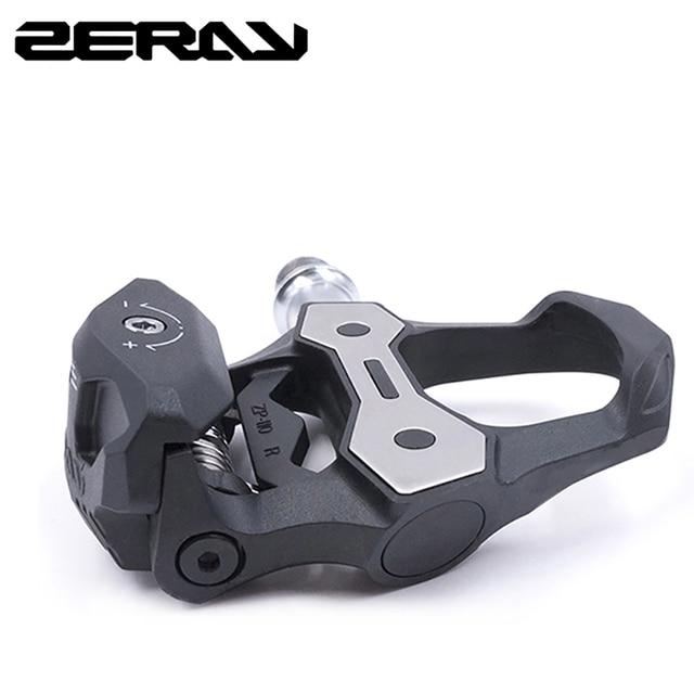 Педали для шоссейного велосипеда ZERAY, 30% углеродное волокно с бутсами, ZP 110, совместимы с самоблокирующимися подшипниками, Аксессуары для велосипеда