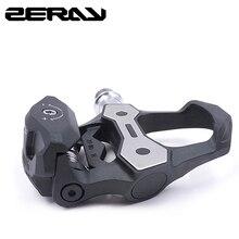ZERAY pedales de bicicleta de carretera de fibra de carbono 30%, con tacos ZP 110, compatibles con LOOK KEO, rodamientos de bloqueo automático, accesorios de bicicleta