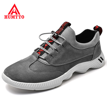 New Spring Men Casual Shoes Fashion Genuine Leather Mens Shoe Light Comfortable Breathable Walking Sneakers Luxury Brand Loafers clax men shoes genuine leather spring autumn casual shoe male leather shoe walking footwear soft black fashion