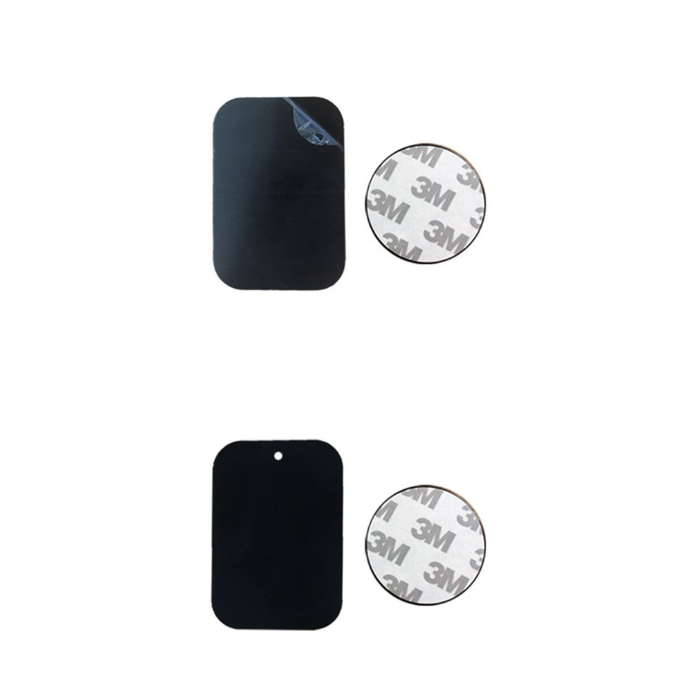 Metal Plate Disk For Magnet Car Phone Holder Iron Sheet Sticker For Magnetic Mobile Phone Holder Car Stand Mount