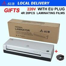Ламинатор Формата А4 ламинатор с 2 роликами для использования