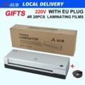 Ламинатор Формата А4, ламинатор с 2 роликами для использования дома, офиса или школы, подходит для использования с фотографиями