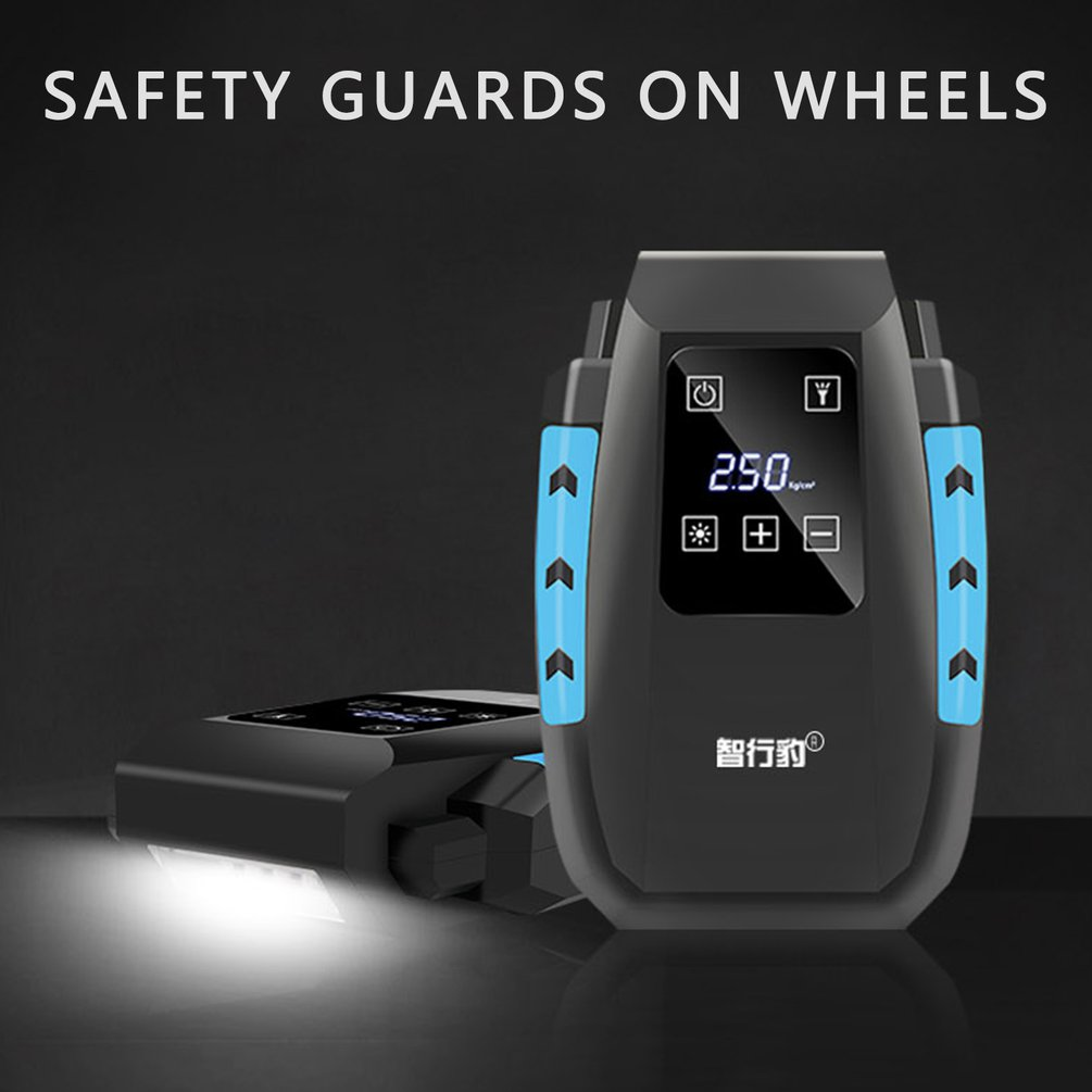 Touch Screen Tyre Inflator Digital Air Compressor Tyre Pump With Led Display