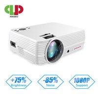 Potente soporte 720P Proyector X5 reproductor multimedia 3D Home Cinema juego USB conectar teléfono portátil tarjeta TF Proyector de vídeo