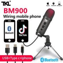 Компьютерный микрофон tkl bm900 usb для прямой трансляции подкастов