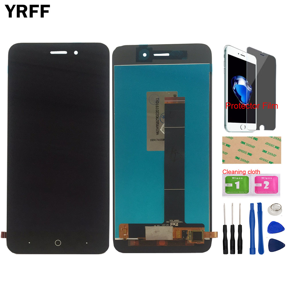 LCD Display For <font><b>ZTE</b></font> <font><b>Blade</b></font> <font><b>A601</b></font> LCD <font><b>Screen</b></font> Display Phone Touch <font><b>Screen</b></font> Digitizer Panel Tools Protector film image