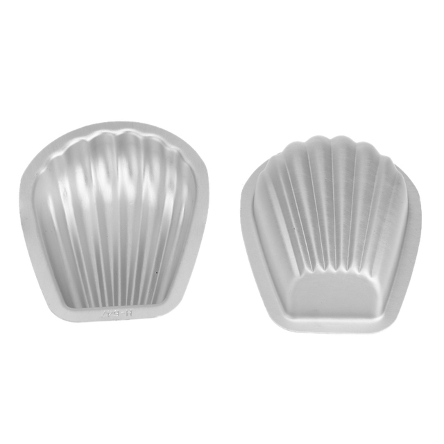 2Pcs/set Aluminium Alloy 3D Bath Bomb Molds DIY Tool Salt Ball Homemade Crafting Mould Semicircle Sphere Shell Bath Accessories 4