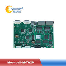 new design control system M-TA20 led sending card for outdoor full color led video screen p4 led display module(China)
