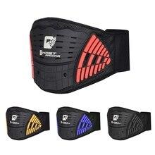 GHOST RACING cinturón deportivo de seguridad para motocicleta, cinturón de apoyo para la cintura, transpirable, de ajuste elástico