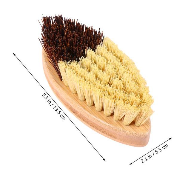 Wooden Sisal Hemp Brush Oilproof Cleaning Brush Pot Pan Dish Scrubber Kitchen Utensil Cleaner Bathroom Cleaning Tool 3