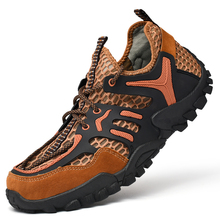 Hiking Sandals Trekking-Shoes Mountain Climbing Outdoor Breathable Sport Mens New Light