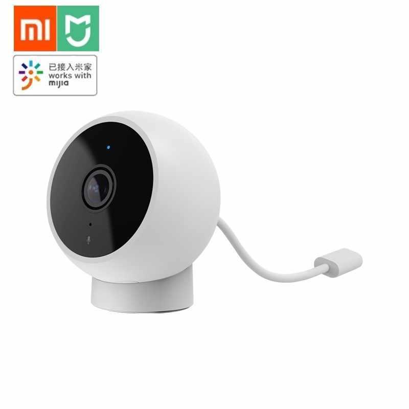 Terbaru Xiaomi Mijia Smart Camera 170 ° Lebar Sudut Kamera HD 1080 P IP65 Tahan Air Infrared Malam Visi Bekerja dengan Mijia