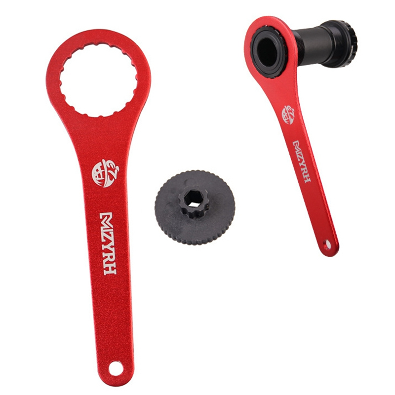 Bike 16 Notch 44mm Bottom Bracket Install Remover Tool Bicycle Bottom Bracket Wrench Repair Tool Accessories