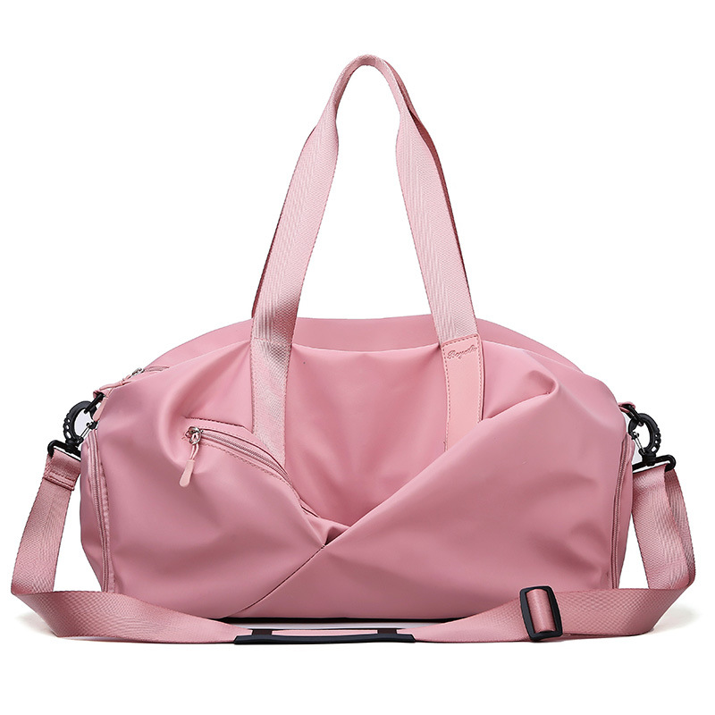 Sports and fitness bags women's wet and dry shoes training yoga bags large-capacity hand luggage bags outdoor travel bags