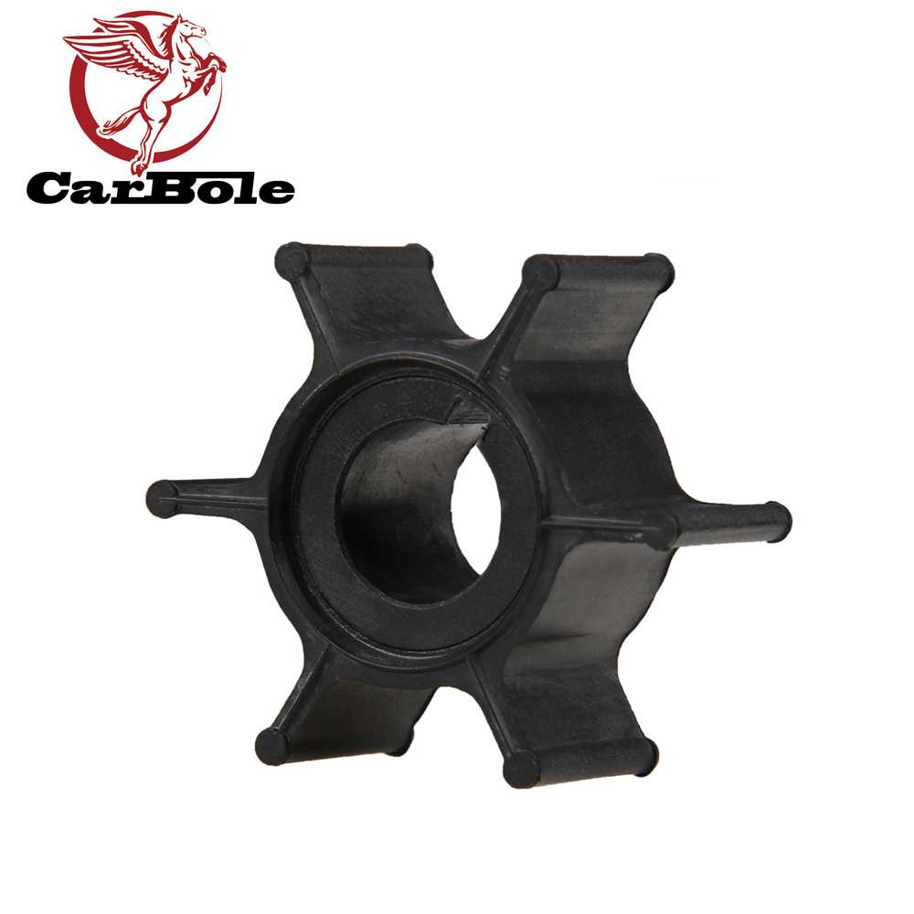 CARBOLE Impeller for Yamaha 6HP 8HP 2-Stroke Outboard Boat Motor Part Petrol Boat Engine Water Pump Impeller for Sierra 18-3066