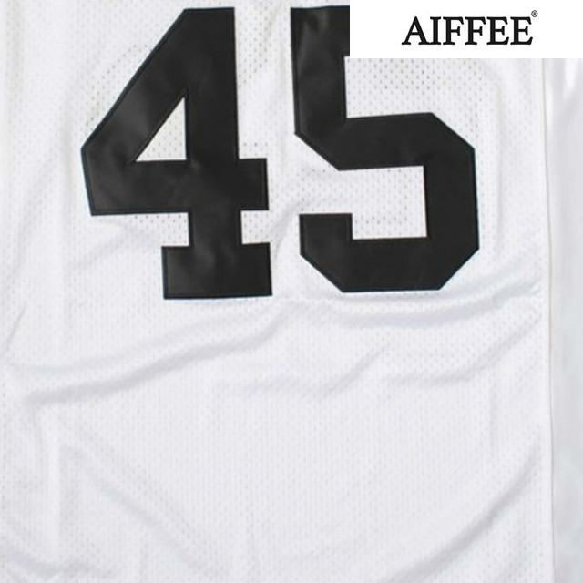 AIFFEE Football Jersey from Movie tv Hip Hop Shirts Tees t shirt Stitched Costume 44 42 13 33 45 Stitched Name and Number S-3XL 5