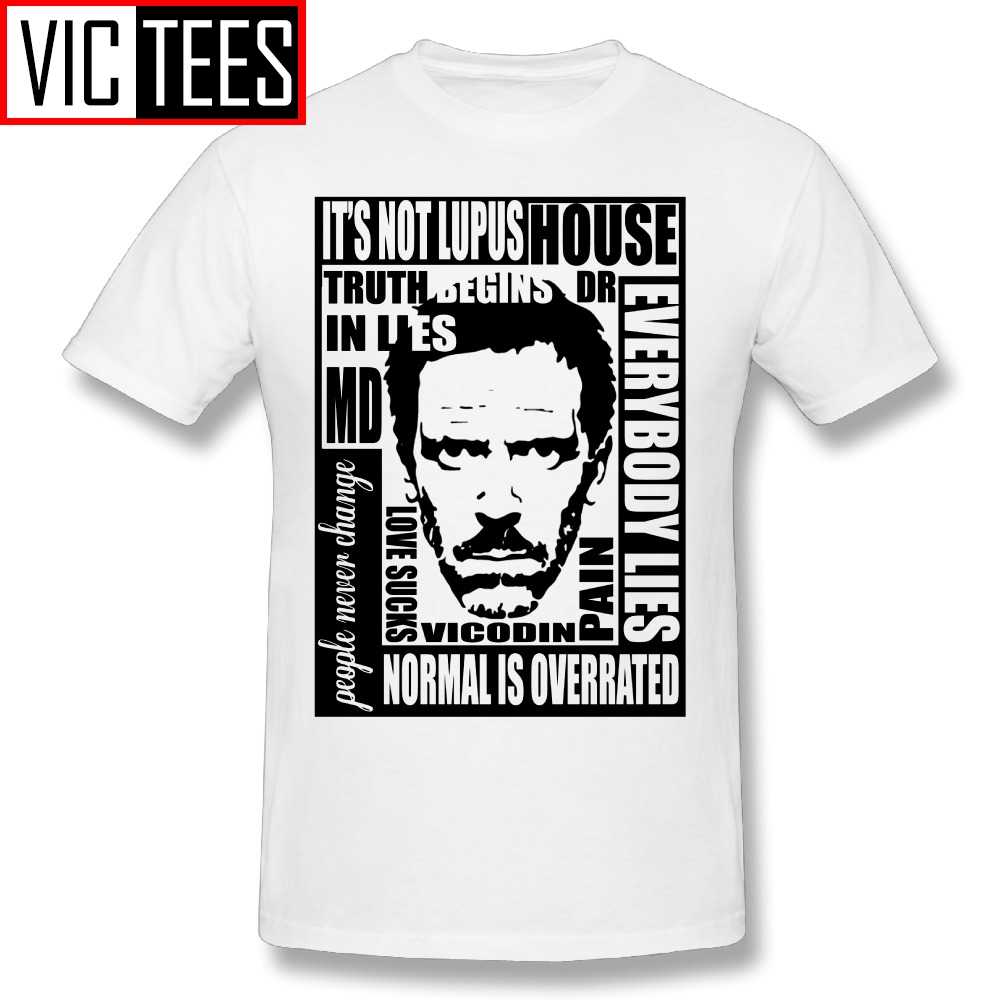Men's Design T Shirt House MD Everybody Lies