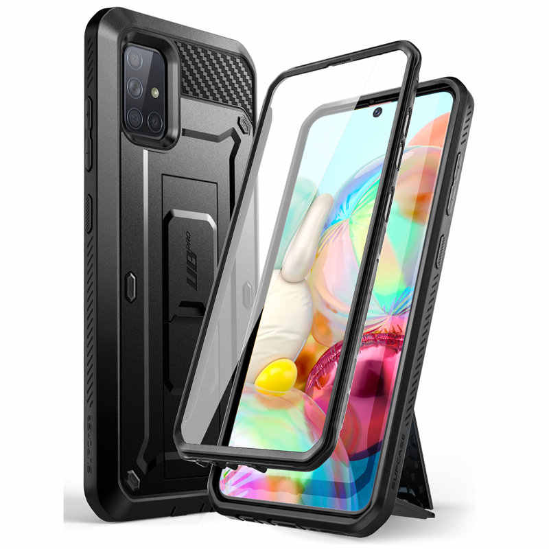 SUPCASE For Samsung Galaxy A71 Case (Not Fit A71 5G Series) UB Pro Full-Body Rugged Holster Cover with Built-in Screen Protector