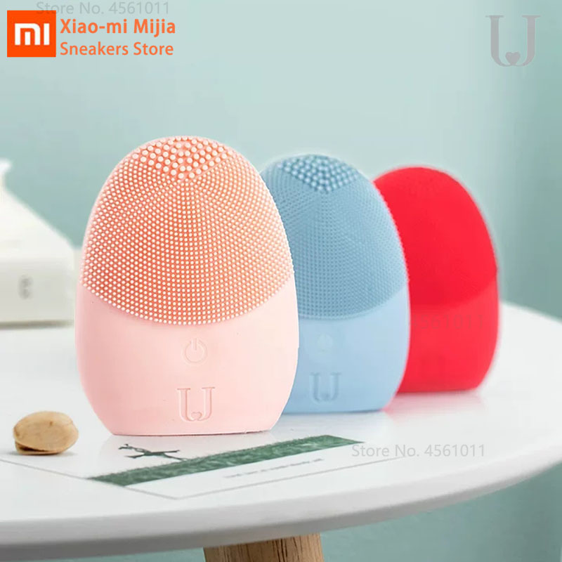 Xiaomi Mijia JORDAN & JUDY Cleansing Instrument Deep Cleanse Sonic Facial Instrument Cleans Face Skin Care Massager Mijia Home