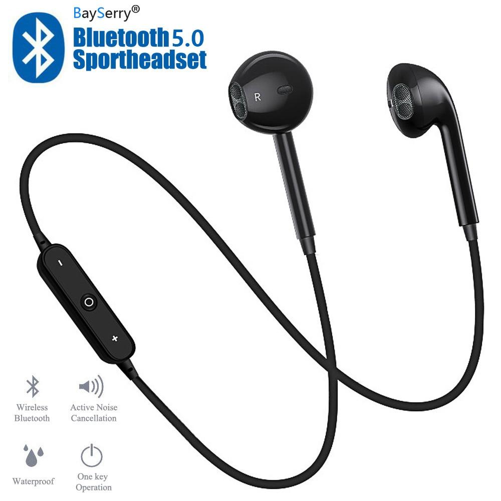 S6 Wireless Earphone Earbuds Headset Handsfree Headphone Sport Neckband Bluetooth Earphone With Mic For Iphone 11 Pro X Xs Xr 6s On Aliexpress