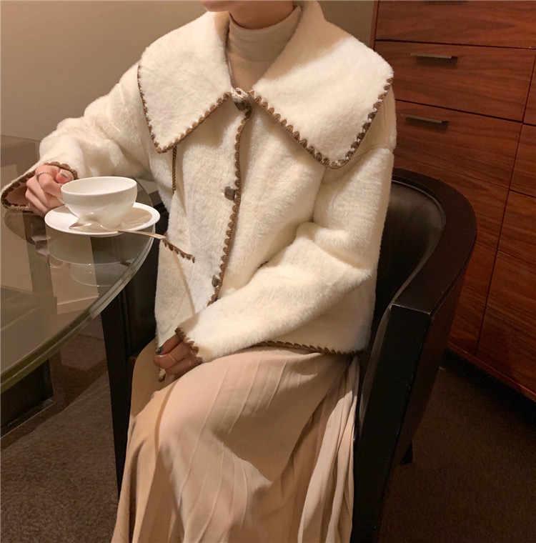 Woolen mantel frauen hohe qualität Dicke Mäntel wolle mäntel 2019 Wolle Jacken Graben winter oberbekleidung Tasche mantel frauen wolle s0186