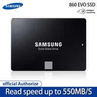 100% Samsung 860 EVO SSD 1 to 500GB 250GB disque SSD interne HDD disque dur SATA3 2.5 pouces ordinateur portable ordinateur de bureau disque HD SSD4T