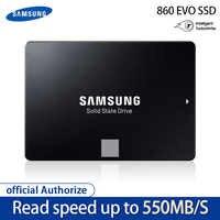 100% Samsung 860 EVO SSD 1TB 500GB 250GB disco duro de estado sólido interno Disco Duro sapa3 2,5 pulgadas ordenador portátil disco de escritorio HD SSD4T