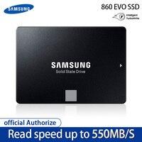 100%Samsung 860 EVO SSD 1TB 500GB 250GB Internal Solid State Disk HDD Hard Drive SATA3 2.5 inch Laptop Desktop PC Disk HD SSD4T