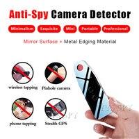 Promo Mini Detector de espejo para cámara Anti espía RF buscador de señal infrarroja para GSM localizador