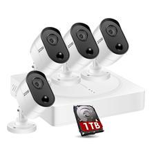 DVR Cameras Cctv-System Pir-Sensor ZOSI Surveillance-Kit Security Outdoor Home-Video