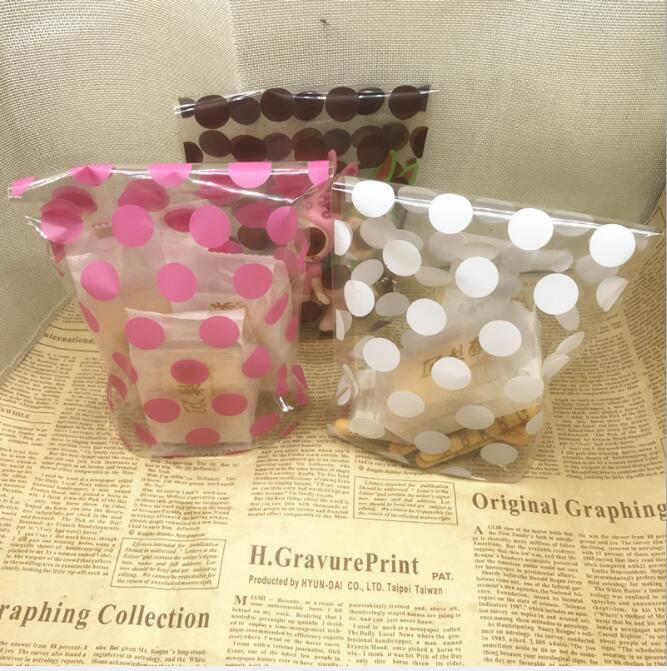 200pcs Candy Bag Packaging For Sweets Candies Bags Transparent Plastic Birthday Wedding Party Gift Wrap