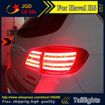Car Styling tail lights for Haval H6 taillights LED Tail Lamp rear trunk lamp cover Haval H6 taillight