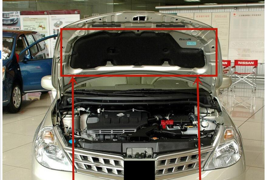 thermal insulation cotton sound insulation cotton heat insulation pad modified For 2005 2006 2007 2008 Nissan Tiida
