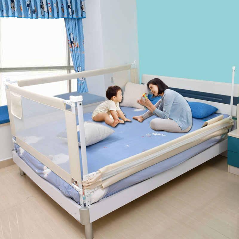 ベビーベビーサークルベッド安全レールため子供フェンスフェンスベビー安全ゲートベビーベッドベッド新生児のための障壁幼児