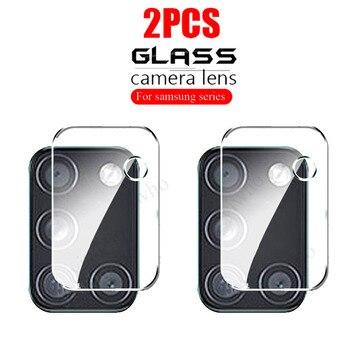 2 piezas de cristal de lente de cámara para Samsung Galaxy M01...