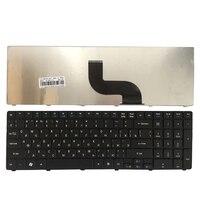 Novo teclado russo para acer aspire 7740g 7750 7750g 7750z 7235 7235g 7250g 7250g 5542g ru teclado do portátil preto keyboard for acer keyboard for acer aspire laptop keyboard -