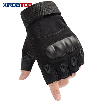Hot Sale 2020 Men Women Outdoor Sport Tactical Gloves Airsoft  Half Finger Gloves Military Combat Gloves Shooting Hunting Gloves 2
