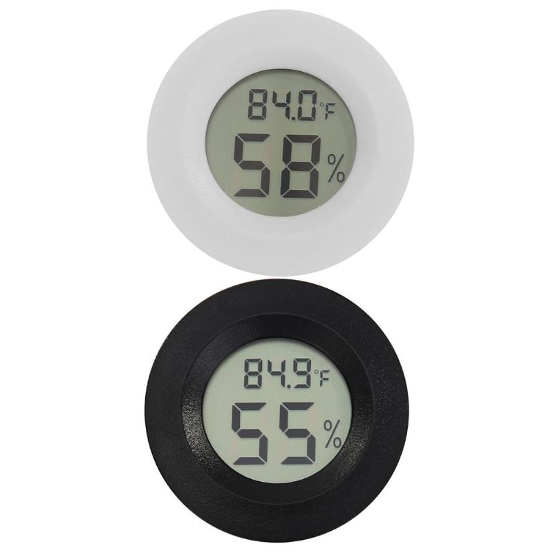 Digital LCD Thermometer Hygrometer Electronic Temperature Humidity Meter Terrarium Box Thermometer
