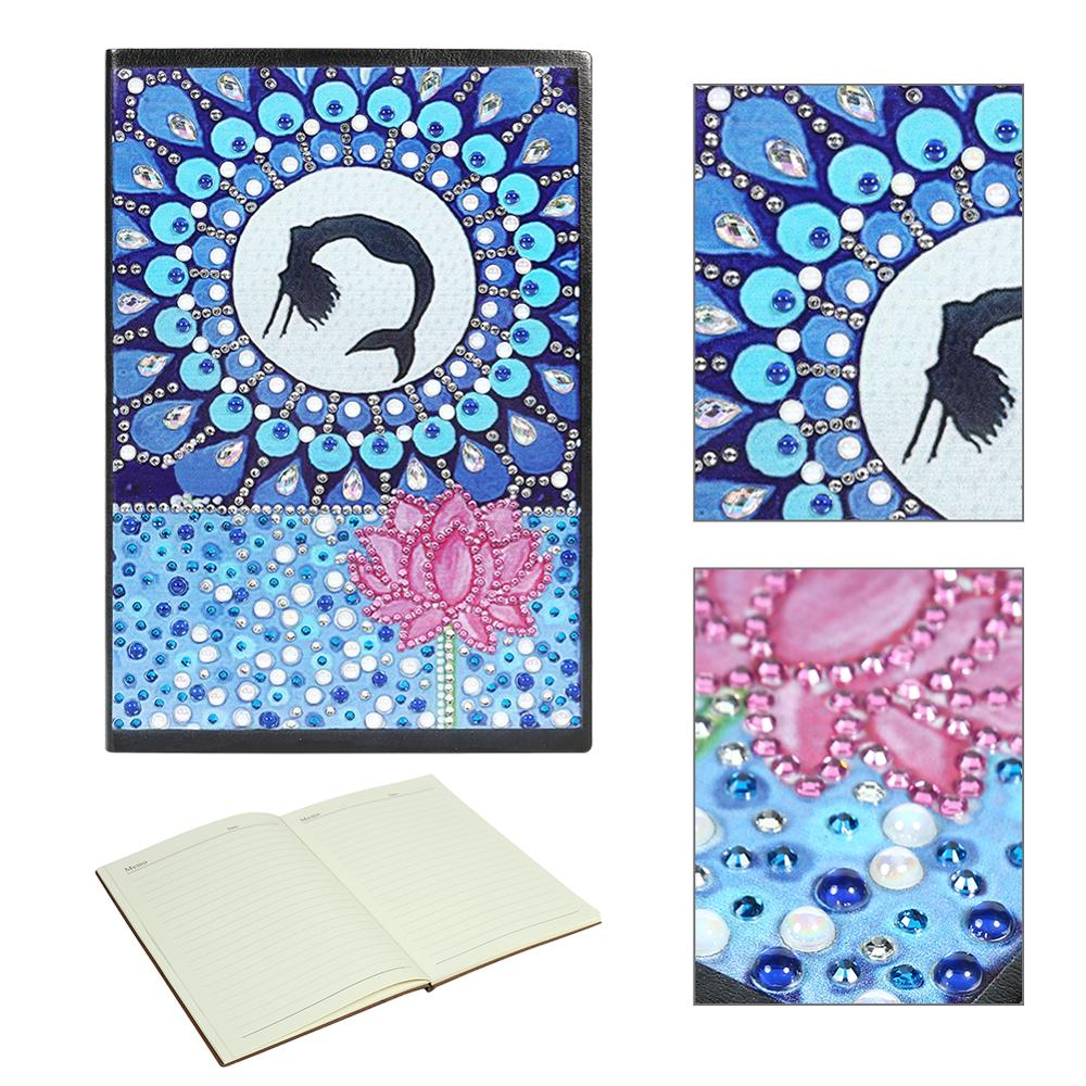Newest Diy Flower Special Shaped Diamond Painting 60 Pages A5