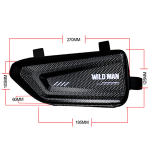 Image 2 - For Benelli 502c BJ500 BJ 500 motorcycle side package modified side package Hard Case triangle package bag kit