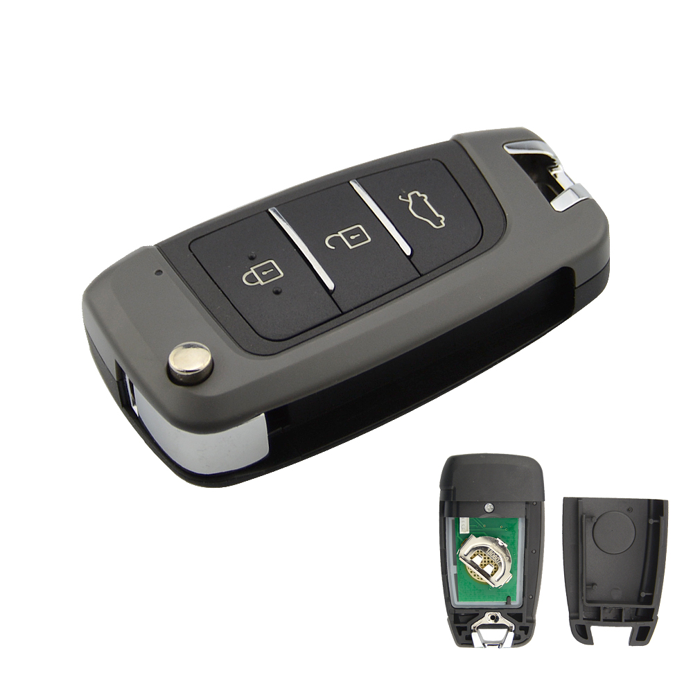 Tools : CHKJ 3 Button Universal Remote Control Replacement Smart Car Key Keydiy For KD900 KD900   KD200 URG200 KD-X2 mini-kd B25 series